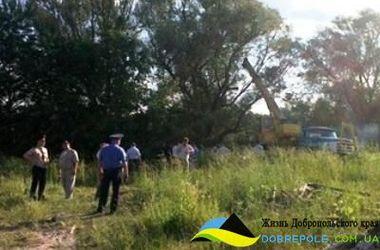 В Хмельницком пассажирский автобус упал в водоем
