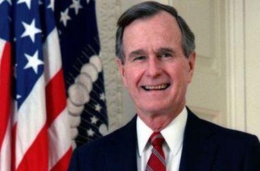 Экс-президент США Джордж Буш-старший отмечает 90-летие
