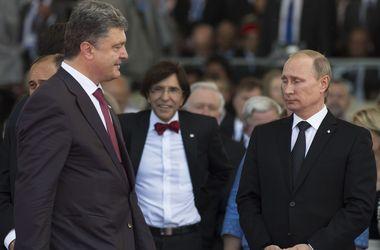 Россия официально признала Порошенко президентом Украины