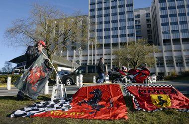 Шумахер переведен в реабилитационное отделение больницы в Гренобле