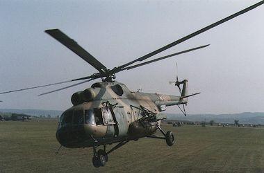 Российский вертолет нарушил границу Украины