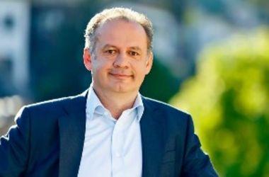 Киска официально вступил в должность президента Словакии
