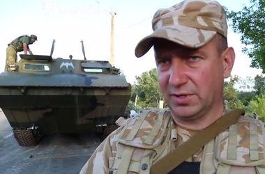 """Батальон """"Айдар"""" вводит комендатуру в освобожденном от террористов городе Счастье"""