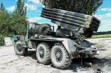 """Террористы начали обстрел Луганска из """"Града"""""""