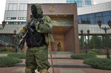 Все подробности захвата боевиками Нацбанка, казначейства и Миндоходов в Донецке