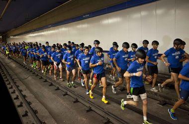 В Барселоне пройдет легкоатлетическая гонка туннелем метро