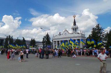 В мэрии Харькова говорят, что никто не заставлял людей встречать Кернеса