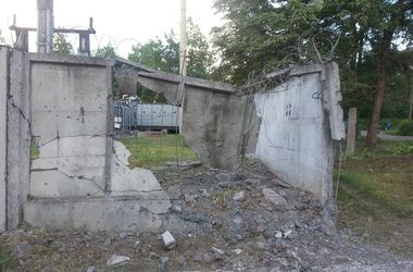 В Краматорске обстреляли район местного завода