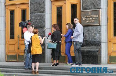 Встреча у Порошенко в лицах