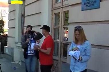 Автомайдан требовал люстрации власти в Запорожье