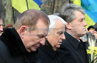 Кучма, Кравчук и Ющенко поддержали политику Порошенко