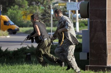 Славянск полностью блокирован украинскими силовиками