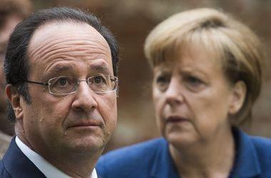 Меркель и Олланд призвали Путина остановить бои в Донбассе и возобновить газовые переговоры