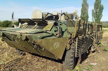 Террористы на БТР пытались прорваться вглубь Украины – Аваков