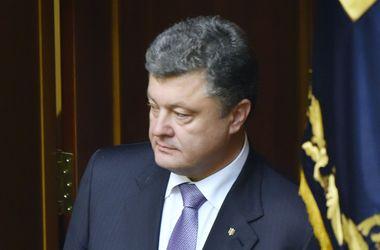 Порошенко: Огонь в Донбассе прекратится на 7 дней