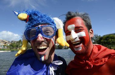 ЧМ-2014: онлайн матча Швейцария - Франция