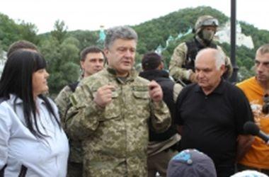 Порошенко представил мирный план урегулирования ситуации на востоке Украины (обновлено)