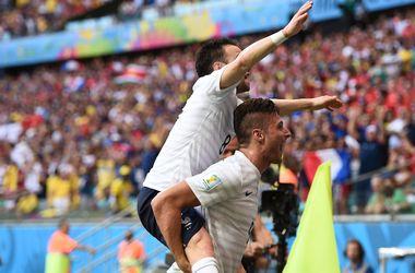 Франция и Швейцария сыграли самый результативный матч ЧМ-2014