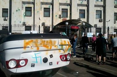 В Киеве снова будут пикетировать российское посольство