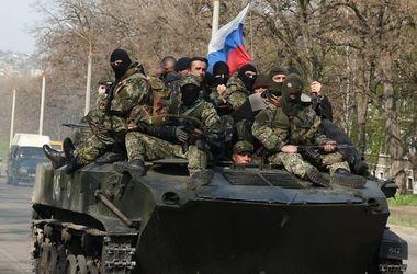 В Донецкой области  передвигается  колонна военной техники террористов - СНБО Украины