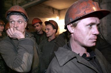 """Горняки шахты """"Комсомолец Донбасса"""" призвали прекратить войну"""