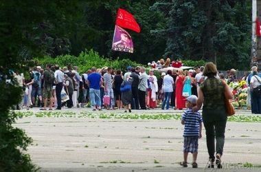 В Одессе собрался малочисленный Антимайдан