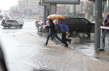 На Киев надвигается шторм