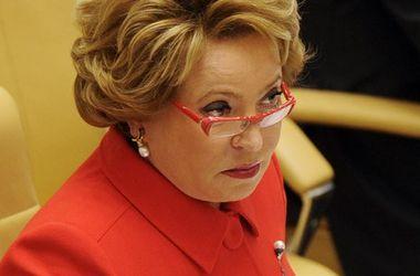 Матвиенко: никаких компромиссов по Крыму быть не может, он - наш