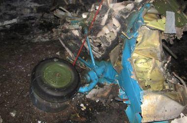 В сети появились фото сбитого террористами вертолета Ми-8