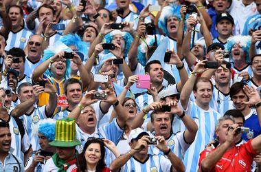 Фанат сборной Аргентины получил огнестрельное ранение перед игрой с Нигерией
