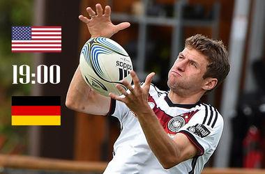 Онлайн матча США - Германия