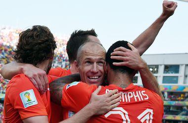 В случае победы на ЧМ-2014 сборную Голландии отправят в космос