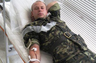 Военнослужащие  Житомирской области сдали 15 литров донорской крови