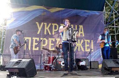 Евромайдановцы в Харькове  требовали  люстрации   в милиции, прокуратуре и судах