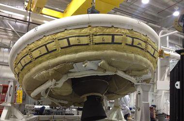 "NASA успешно испытало ""летающую тарелку"""
