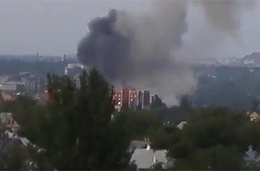 Как и зачем взорвали военную часть в Донецке