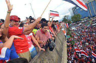 В Коста-Рике за выход в четвертьфинал ЧМ-2014 бесплатно наливали пиво