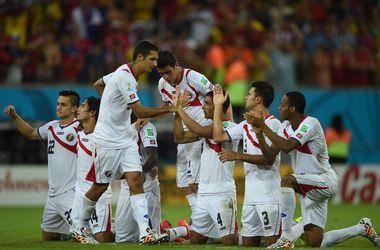 Коста-Рика по пенальти пробилась в четвертьфинал чемпионата мира