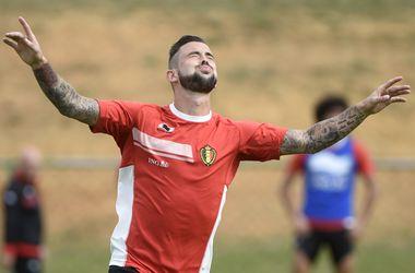 Защитник сборной Бельгии отделался одним матчем дисквалификации