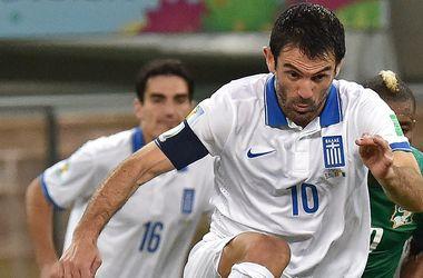 Ветеран сборной Греции объявил о завершении международной карьеры