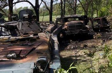 Под Луганском колонна сил АТО подорвалась на фугасе – Тымчук