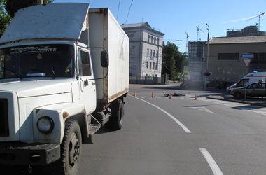 В Киеве в ДТП насмерть разбился мотоциклист