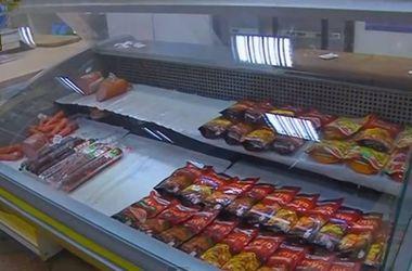 В Славянске продукты питания есть, но денег у людей нет