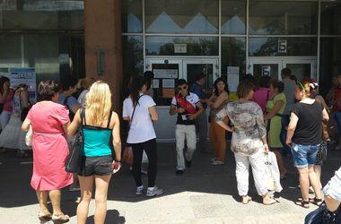 В Харькове начали сдавать тестирование выпускники из зоны АТО