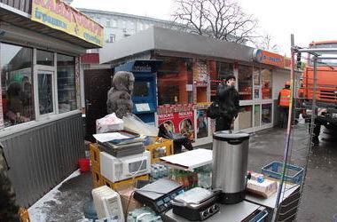 В центре Киева будут искать стихийных торговцев