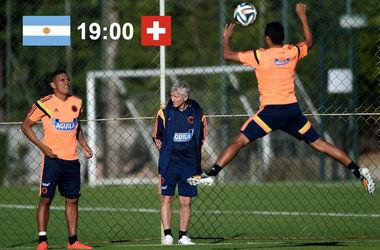 Онлайн матча Аргентина - Швейцария