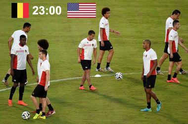 Онлайн матча Бельгия - США
