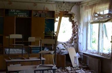 В Краматорске артснаряд попал в школу
