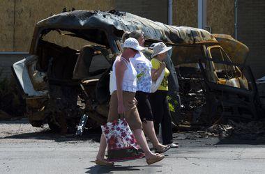Славянск на грани экологической катастрофы из-за общих могил террористов - ПС