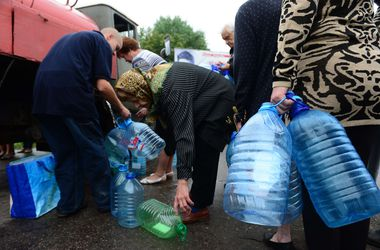 Донецк вернулся к подаче воды по графику